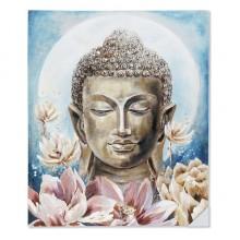 Glezna Dekodonia Akrīls Koks Austrumniecisks Canvas Buda (100 x 3 x 80 cm)